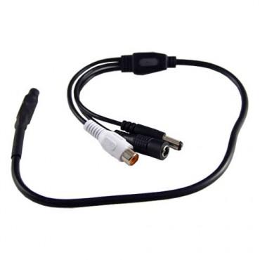MIC01 : External microphone, DC6V~12V, S/N 35,5 dB, 420 mm