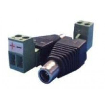 CON285 : DC male connector with +/- 2 terminal output - 1 unit