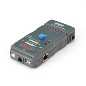 NCT-2: Cable tester for RJ11, RJ45 & USB