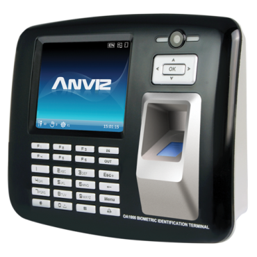 OA1000-MERCURY: Time & Attendance and Access control - Fingerprint, RFID, keypad & 1,3Mpx Camera - 1.000 recordings / 200.000 records - WiFi, TCP/IP, USB, RS232, Relay - 16 Time & Attendance control modes - CrossChex software