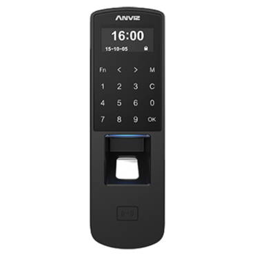 P7-MIFARE: ANVIZ autonomous biometric reader - Fingerprint, MIFARE & keypad - 3000 recordings / 50000 records - TCP/IP, RS485, miniUSB, Wiegand 26 - Integrated controller | Anti-passback - Control of groups and time schedules