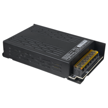 PD-120-12: Power supply distribution box - 1 AC input 100 V ~ 240 V - 2 outputs - Resettable fuse protection - Output voltage DC 12 V / 120 W - Metal housing