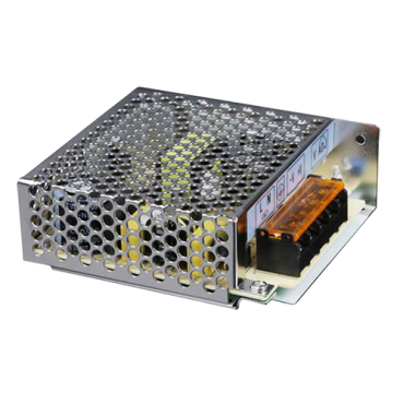 PD-60-12: Switching Power Supply - Input AC 100~240 V - DC Output 12 V / 5 A (60W) - Adjustable output 11~15 V - Protected against surges and current peaks