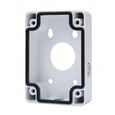 PFA120 : X-Security, Connections Box, For motorized domes, Suitable for outdoor use, Wall installation, White color