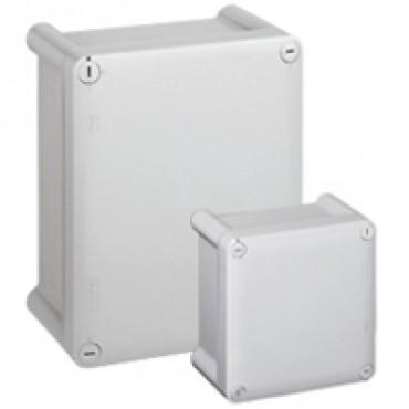 035047: Le Grand Plexo plastic cabinet - 360x270x124mm - IP66 - gray RAL 7035