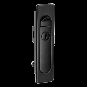 VT-RACK-SPLOCK: Spring type rack lock - For front door of floor rack - Metallic - Includes 2 keys