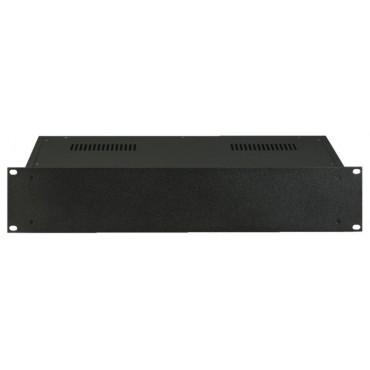 """MNC-RCG-22/SW-2U: 19"""" Server Case - black - 2U - Universal - Dimensions (h/w/d) 83 x 432 x 218mm"""