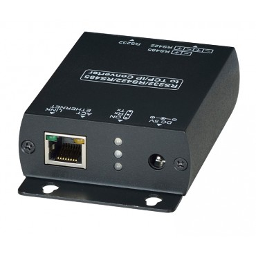 RS007: RS232/RS485/RS422 to Ethernet ( TCP/IP) Converter