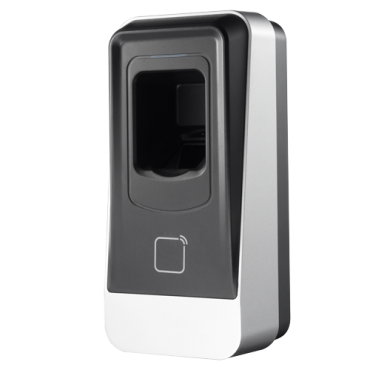 SF-AC1102EMD-R: Access reader - Access by fingerprint and/or EM card - LED and acoustic indicator - RS485 Communication - Compatible with SF-AC2(x)03-WRIP - Suitable for exterior IP65