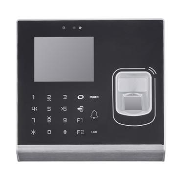 SF-AC3005KMFD-IPW-C: Access and Attendance control - Fingerprint, Mifare card and PIN - 5.000 recordings / 100.000 records - TCP/IP, USB, WiFi, Wiegand and Relay - Integrated controller | 2 Mpx - Safire Control Center-software