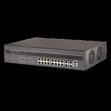 SF-DEC7916H-4K: Safire Decoder - 128 channels / 16+2 Ethernet ports RJ45 - Max resolution 12.0 Mp - Bandwidth 256 Mbps - 16 HDMI Outputs 4K - ONVIF Compatible