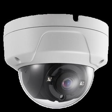 SF-DM836K-Q4N1: Safire PRO Dome Camera - Output 4in1 - 5 MP high performance CMOS - 2.8 mm Lens - Smart IR Matrix range 20 m - Waterproof IP67 | Anti-vandal IK10
