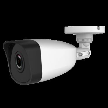 "SF-IPB025HA-2E: 2 MP IP Camera - 1/2.8"" Progressive Scan CMOS - Compression H.265+, H.265, H.264+, H.264 - Built-in microphone - 2.8 mm lens / IR LEDs Range 30 m - WEB, CMS Software, Smartphone and NVR"