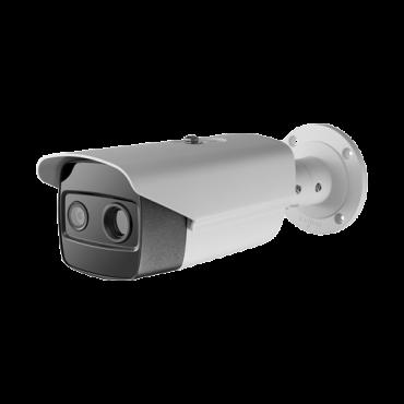 "SF-IPTB305THA-13Y: Safire IP Thermographic Camera - 384x288 Vox   13mm Lens - Remote body temperature measurement - Optical sensor 1/2.7"" 4 MP   Lens 6mm - Thermal sensitivity ≤35mK - High Accuracy ±0.5ºC"
