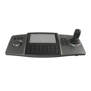 SF-KB110N: HD Keyboard for network control - Double interface: direct or network - LCD touch screen - IP network with connector RJ45 - Joystick 4 axis - Bidirectional audio