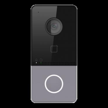 SF-VI111-IPW-1MF: Video intercom IP - 2 MP camera - Bidirectional audio - Mobile App for remote monitoring - Flush mounted