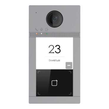 SF-VI112-IPW-1MF: Video intercom IP - 2 MP camera - Bidirectional audio - Mobile App for remote monitoring - Stainless steel, vandal proof - Flush mounted