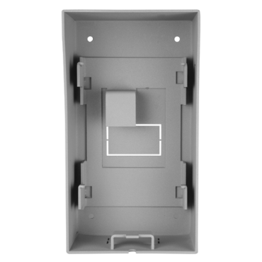 SF-VIB001: Safire surface mount - Video intercom specific - Compatible with SF-VI10(x)E-IP - Cable routes - 193mm (H) x 106mm (W) x 80mm (D) - Stainless steel