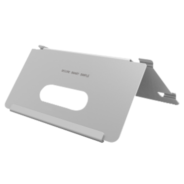 SF-VIB6320: Safire desk stand - Video intercom specific - Compatible with monitors - Cable routes - 86mm (H) x 122mm (W) x 84mm (D) - Made of aluminum