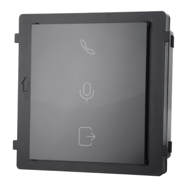 SF-VIMOD-IND: Safire Extension Module - Door status indicator - Call indicator - Indicator for active audio - Suitable for exterior IP65 - Modular