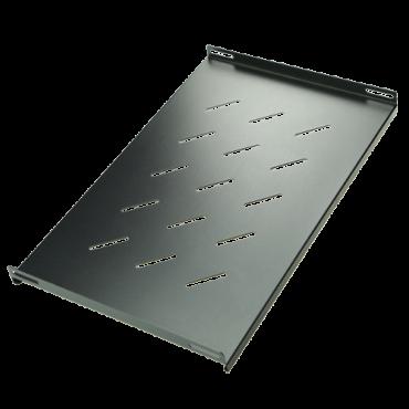 VT-SHELF-450: Rack Tray - Compatible with 4U/6U/C6U racks - Maximum dimension 280 mm x 500 mm - Side fixings - Ventilation slots - Metal