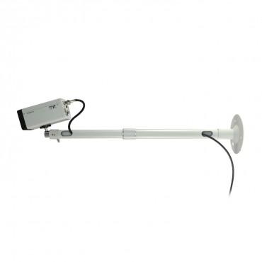 SP420: Support for camera - Extensible 39.5~59.5 cm - Rotation swivel 360º - Hollow cable passage section - Maximum load 10 Kg - Base diameter 12 cm
