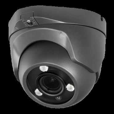"CAM-957ZSWG-5U4N1: Dome camera 5Mpx/4Mpx ULTRA Series - 4 in 1 (HDTVI / HDCVI / AHD / CVBS) - 1/2.8"" Sony© IMX335+FH8556 - 2.7~13.5 mm Motorised Lens - IR LEDs Array Range 40 m - WDR 120dB"