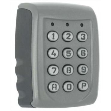 TALOS2-S-TME : Metal housing, Metal keys, surface mounting, 12V AC/DC, IP65
