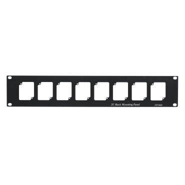 TPN008: 2U Rack Mounting Panel to fit 8pcs TTA111HDT, TTA111HDR, CD102HD, CA101HD