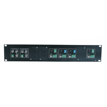 TPN009: 2U Rack Mounting Panel to fit for TTA111VR, CD102 model