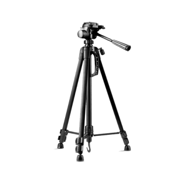 TRIPOD-2M-LITE: Tripod - Extendable up to 170 cm - Valid for exterior use - Black colour - Compatible with Thermographic Cameras and DS-2909ZJ