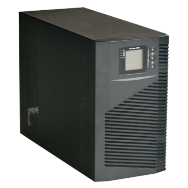 UPS3000VA-ON-4: UPS online - Power 3000VA/2700W - Input 200~240 Vac / Output 200~240 Vac - 4 surge protected outputs - Recharge time 4~5 h - 6 sealed lead-acid batteries