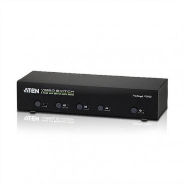 VS0401: VGA Switch 4 Ports, Audio, RS232