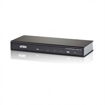 VS184A: ATEN - HDMI HighSpeed Video-Splitter - 4 Ports