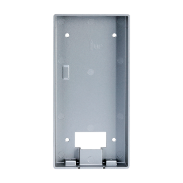 VTM117: X-Security - Surface support for Villa video intercom XS-V3221E-IP - A module - 199mm (H) x 97mm (W) x 29mm (D) - Made of aluminium alloy - Versatile connection, cable entrances on all sides