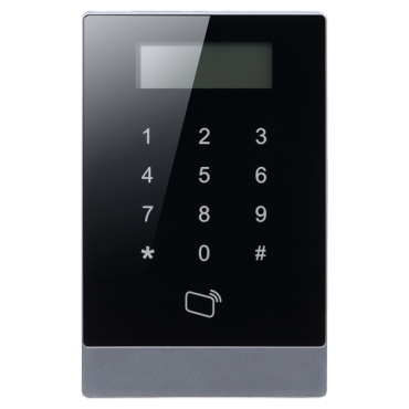 XS-AC1201-EMP: Access Control and Presence - EM RFID card and keyboard - 30,000 recordings / 150,000 records - TCP / IP, USB, RS485, Wiegand and Relay - Suitable for indoor - Compatible with SmartPSS software