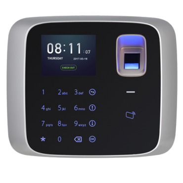XS-AC2212-MFPF: Presence Control Terminal and Simple Access - Fingerprints and keyboard - Mifare card reader 13.56 MHz - 3.000 fingerprints / 150.000 records - TCP/IP and USB - Compatible with Smart-PSS