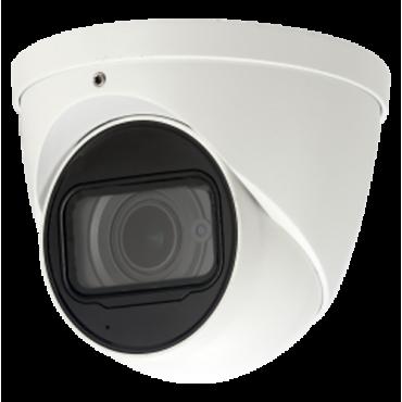 "XS-DM987ZWA-6MC: HDCVI 6Mpx ULTRA dome camera - 1/2.9"" 6 Megapixel CMOS - Motorised Lens with Autofocus 2.7~13.5mm - 6Mpx (20 fps) / 4Mpx (30 fps) - WDR | 3DNR | BLC | HLC | Audio - Weatherproof IP67"