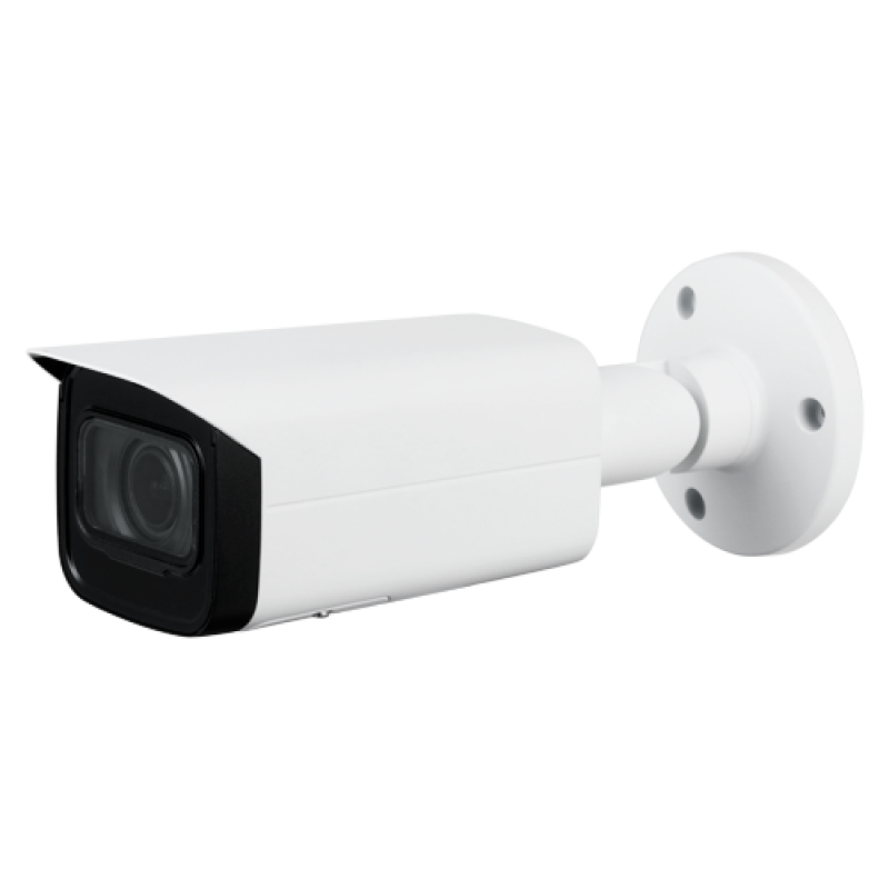 "XS-IPB830ZSWHA-4P: 4Mpx IP PRO Camera - 1/3"" Progressive CMOS - Compression H.265+ / H.265 / H.264+ / H.264 - 2.7~13.5 mm Varifocal Motorised Lens | WDR - Audio and Alarms | IR LEDs range 60 m - Weatherproof IP67"