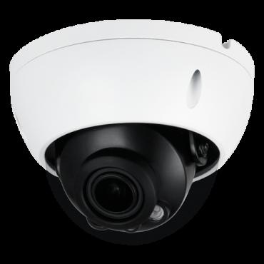 XS-IPD844ZSWHA-4U: X-Security IP Dome Camera - 4 Megapixel (2688x1520) - 2.7 ~ 13.5 mm varifocal lens - Motorised Autofocus - PoE | IEEE802.3af | H.265+ Audio | Alarm - Weatherproof IP67 Anti-vandal IK10