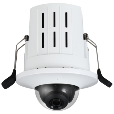 "XS-IPDM730WAH-4: 4 Megapixel IP Camera - 1/3"" Progressive Scan CMOS - Compression H.265+ / H.265 / H.264+ / H.264 - 2.8 mm lens | PoE IEEE802.3af ePoE 800m - Built-in Microphone - Interior / Anti-vandalism IK08"