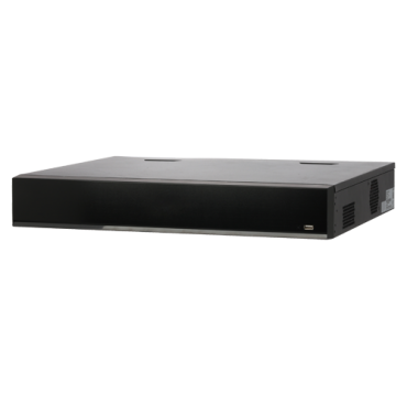 XS-NVR6432-AI-16P: X-Security NVR recorder for IP cameras - Max Resolution 12 Megapixel - Smart H.265 + / Smart H.264 + compression - 32CH IP, 16 ePoE ports IEEE802.3af / at - 4CH facial recognition or 16CH AI - WEB, DSS / PSS, Smartphone and NVR
