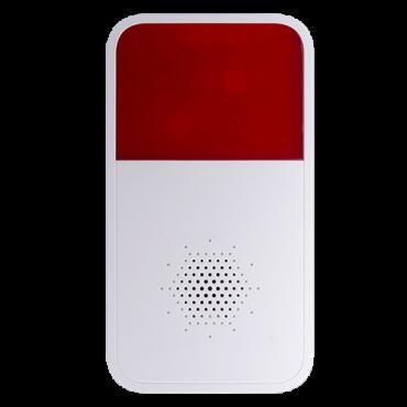 XS-SIREN-IN-W: X-Security siren - Wireless 433MHz - Internal antenna - Range 700m - 85dB at 1m / Warning light - 12VDC / 4xCR123 3V