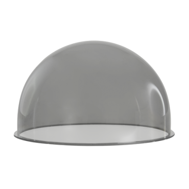 XS-SMOKED-COVER-47: smoke color reserve glass for dome