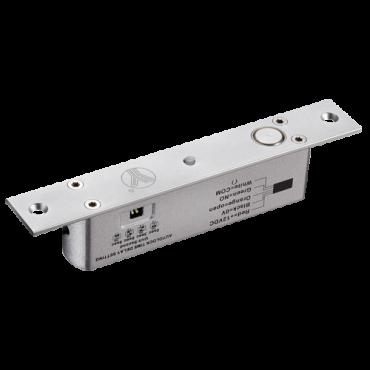 VT-YB200-LED: Electromechanical safety lock - Fail Safe (NC) opening mode - Retention force 1000 Kg - Door status sensor - Programmable self-closing - Made of aluminum