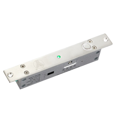 VT-YB500A-LED: Electromechanical safety lock - Fail Safe (NC) opening mode - Retention force 1000 Kg - Door status sensor - Programmable self-closing - Selectable opening time