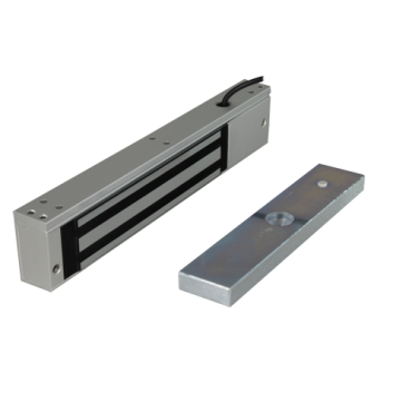 VT-YF-280W: Electromagnetic Lock - For simple door - Fail Safe opening mode - Holding force 280 Kg - Retention area 35 x 155 mm - Outdoor mounting IP67