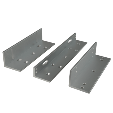 VT-YF-280ZL: Z profile for magnetic locks - Compatible with VT-YF280XX - For opening towards the inside - Composed of 3 profiles L - High strength and durability - Made in duralumin