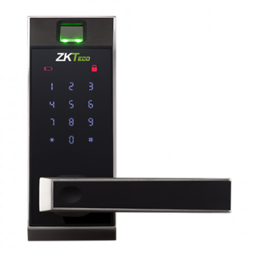 ZK-AL20DB: ZKTeko Intelligent Lock - Fingerprints, keyboard and Bluetooth - Up to 100 users and mobile APP - Autonomous 4 x AA batteries - Ultrasecurity with random code - Compatible with ZK SmartKey app