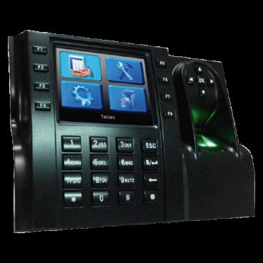 ZK-ICLOCK560: Presence Control - Fingerprints, EM RFID card and keyboard - 8.000 recordings / 200.000 records - TCP/IP and USB - Function keys for presence - ZkTimeNet 3.0 Lite | ZkTimeNet 3.0